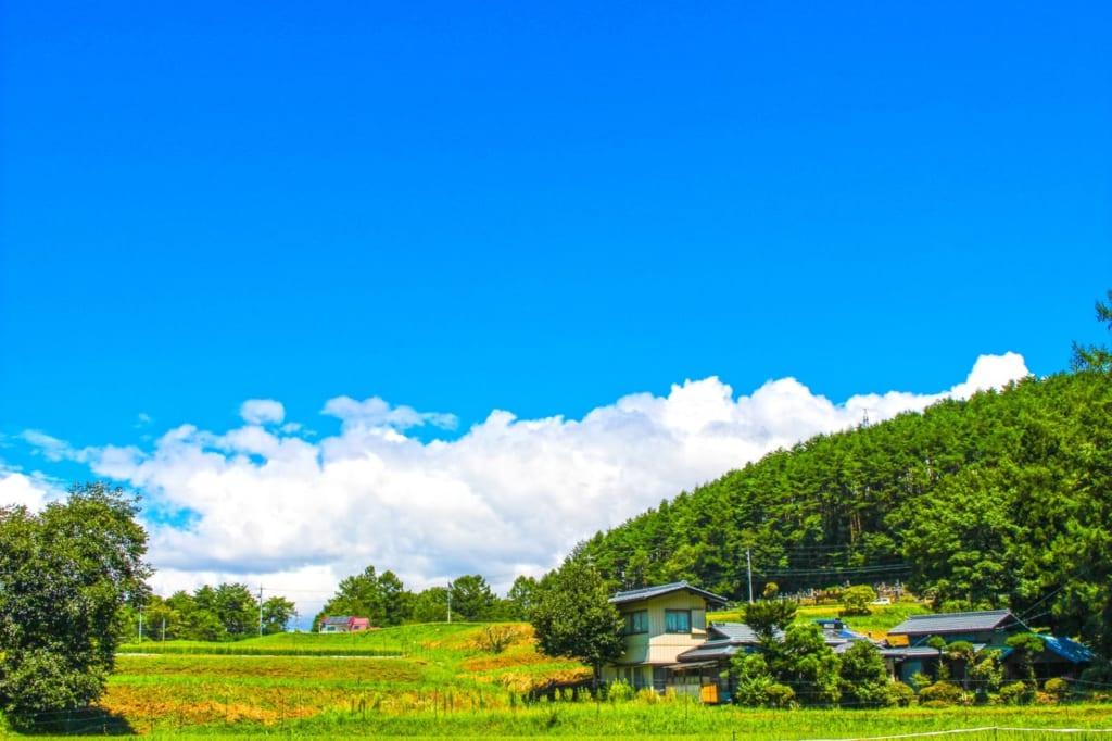 長野の田園風景