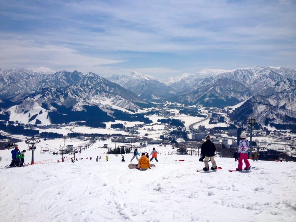 新潟のスキー場