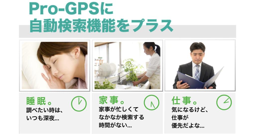 GPSレンタル「Pro-GPS+」