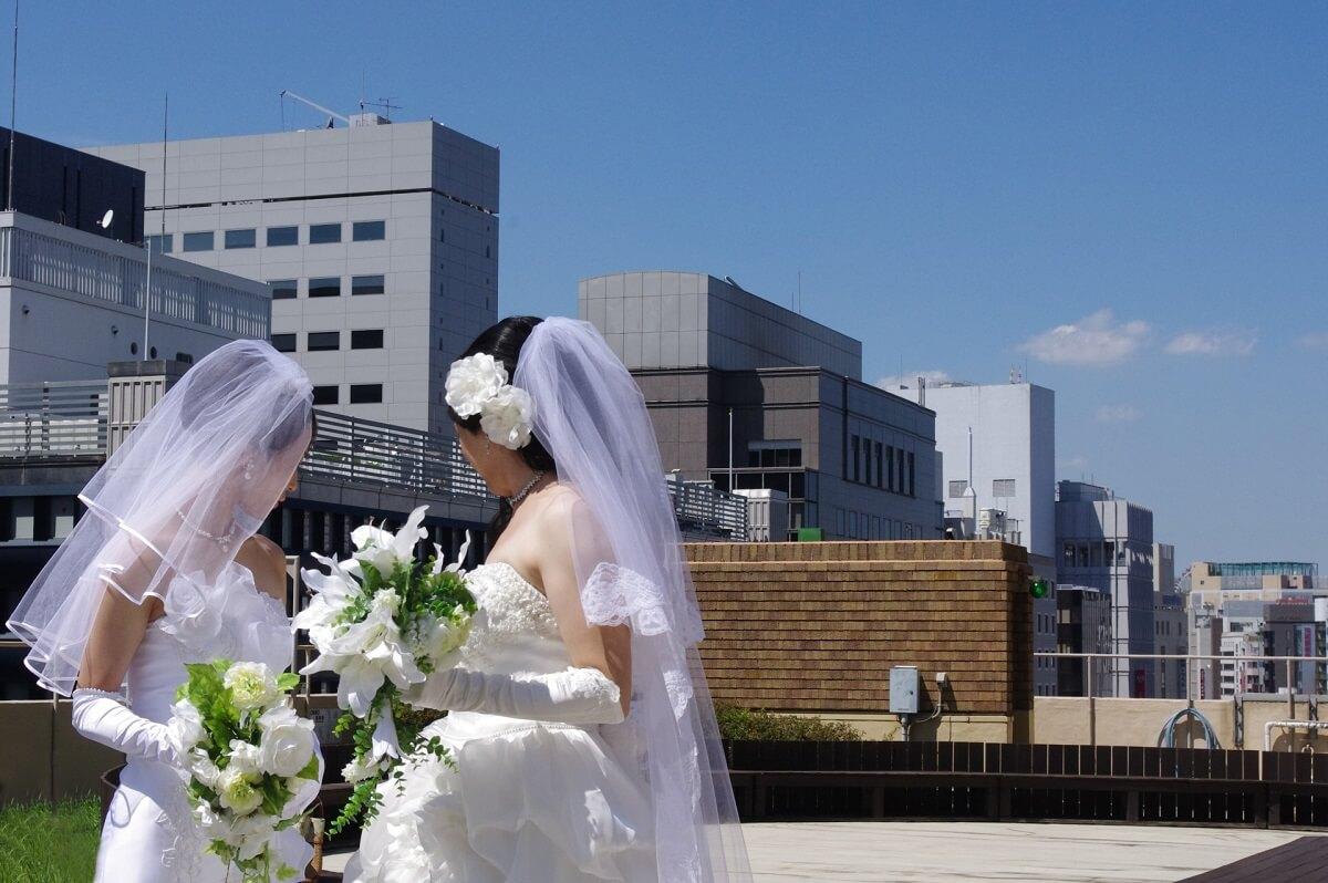 LGBT 女性 結婚式