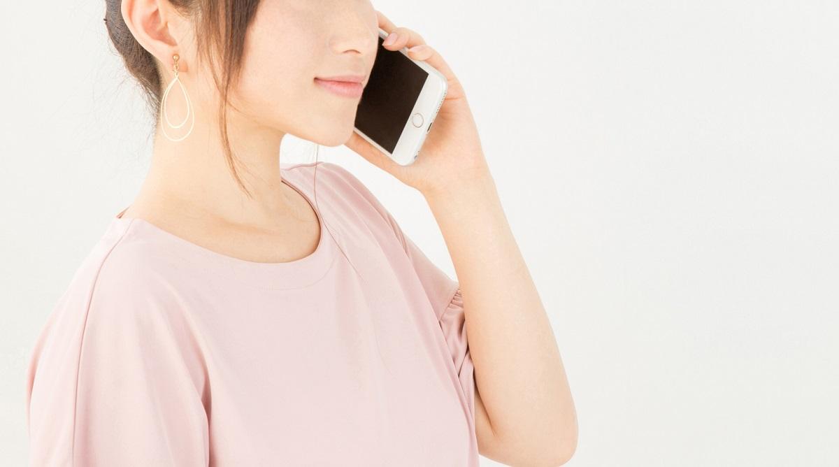 電話 女性