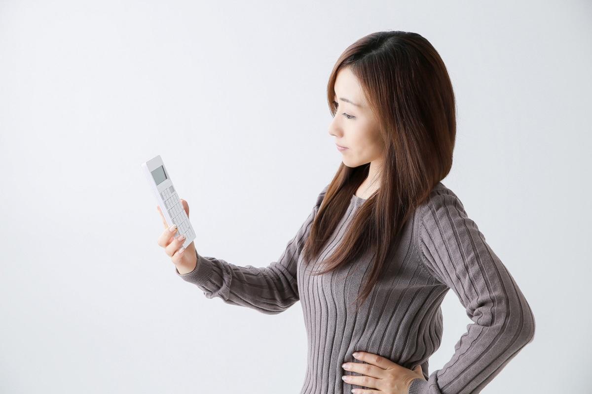 女性 電卓 疑問