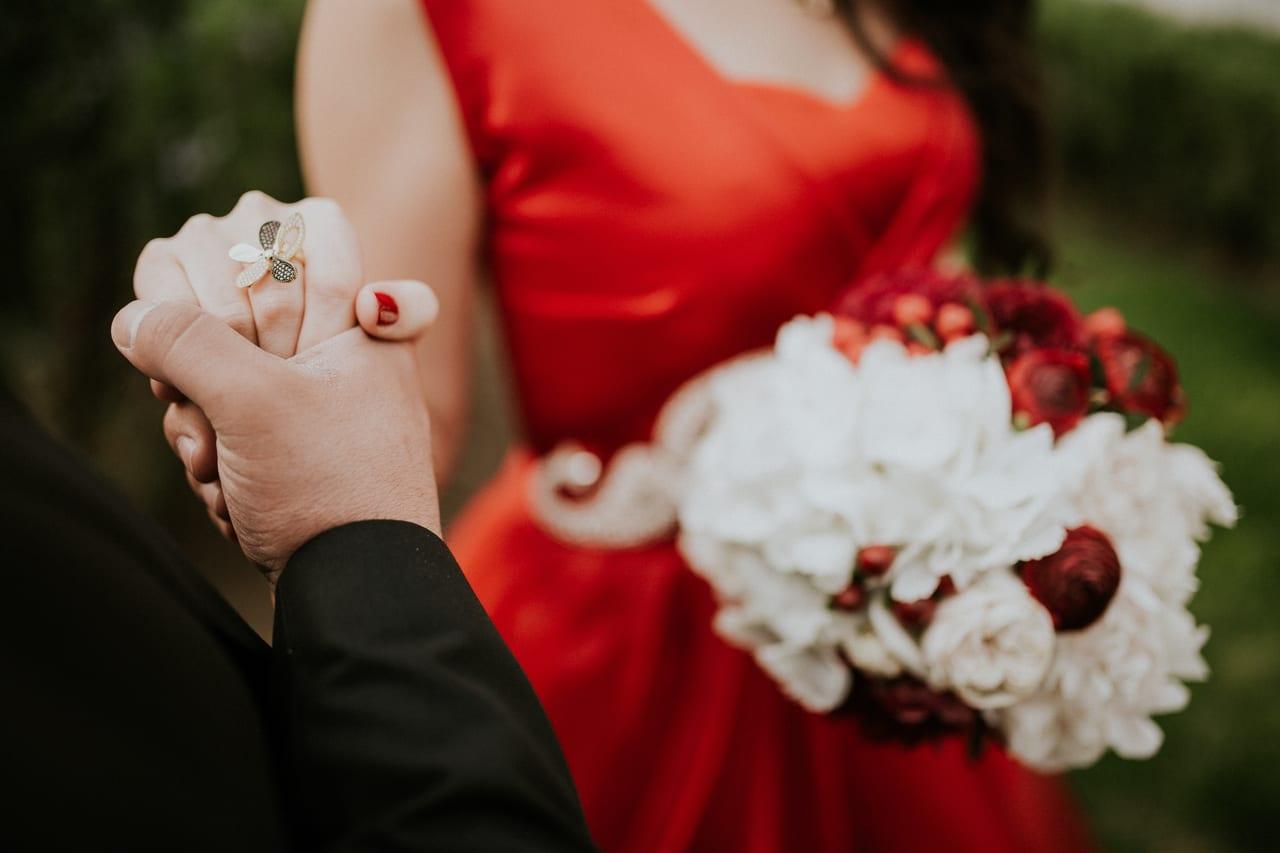 婚約状態の男女